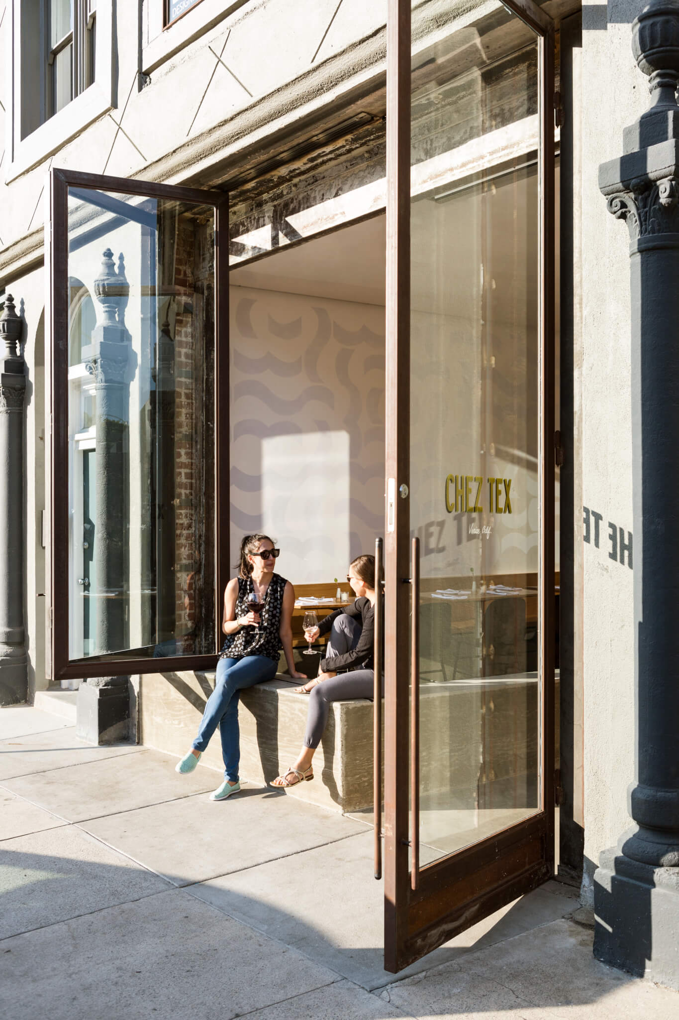 Chez Tex_Storefront Open
