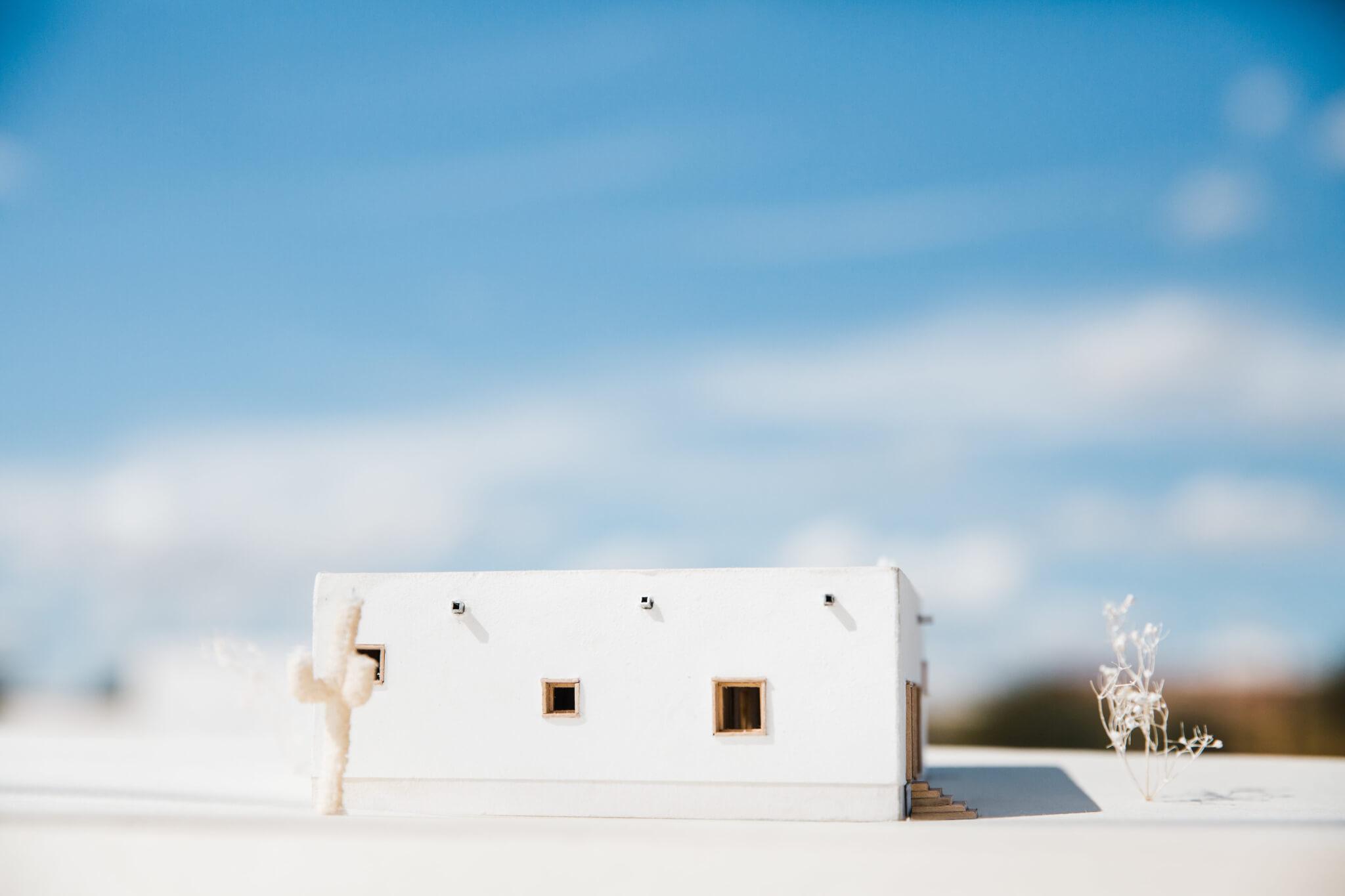 PS_casa de paja_model south elevation