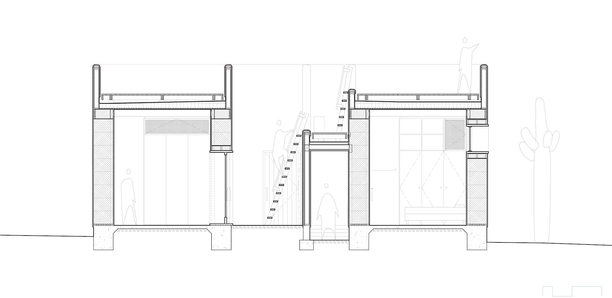 PS_casa de paja_section N-S